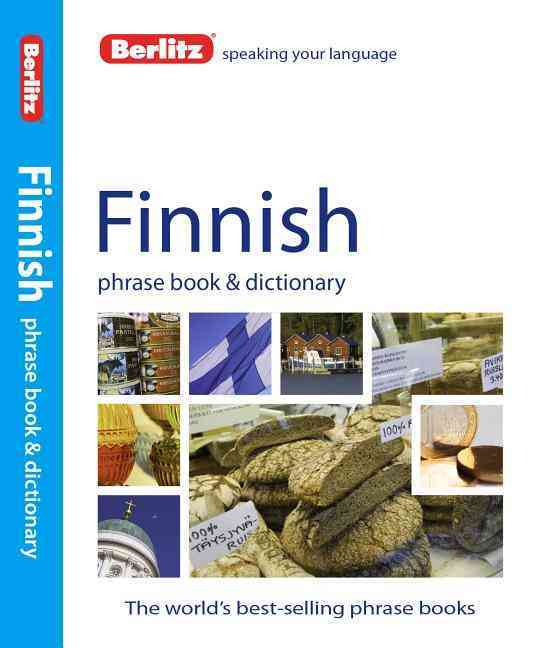 Berlitz Finnish Phrase Book and Dictionary By Berlitz International, Inc. (COR)